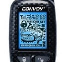 CONVOY MP-120/CYCLON 222 Кожаный чехол для брелка автосигнализации