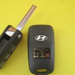 Корпус ключа Hyundai выкидной лезвие TOY48