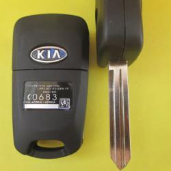 Корпус ключа KIA выкидной англ.лезвие