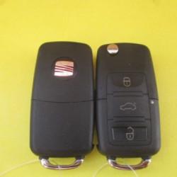 Корпус ключа SEAT, 3 кнопки