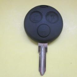 Корпус ключа mercedes SMART,3 Кнопки