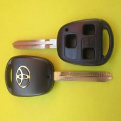 Корпус ключа Toyota 3 кнопки лезвие TOY 43