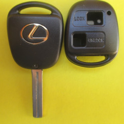 Корпус ключа Lexus 2 kn