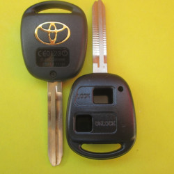 Корпус ключа Toyota 2 кнопки