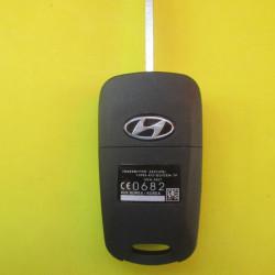 Корпус ключа Hyundai accent выкидной