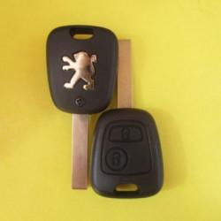 Peugeot 2knopki Лезвие HU83