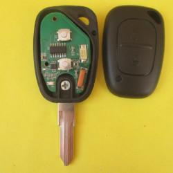 Ключ Renault Trafic 433mhz (2 кнопки) лезвие VAC102