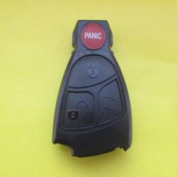 Корпус ключа mercedes рыбка 3+1 кнопка паника