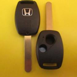 HONDA Корпус ключа 2 кнопки лезвие HON66