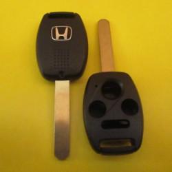 HONDA Корпус ключа на 4 кнопки лезвие HON66