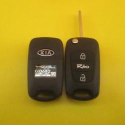 KIA RIO Выкидной ключ (корпус) 3 - кнопки