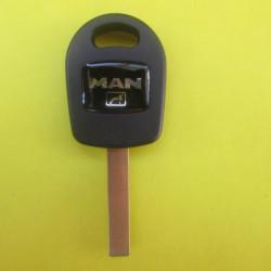 Корпус ключа MAN с местом под чип