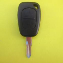 Корпус ключа Renault Trafic (2 кнопки) лезвие VAC102
