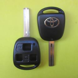 Корпус ключа Toyota 3 кнопки TOY48
