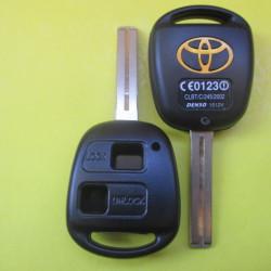 Корпус ключа Toyota 2 кнопки лезвие TOY48