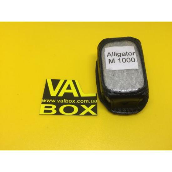 ALLIGATOR M-1000 Кожаный чехол для брелка автосигнализаци