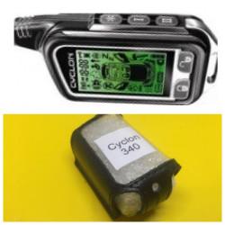 CYCLON 340 Кожаный чехол для брелка автосигнализации
