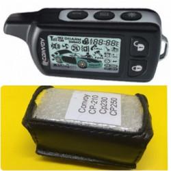 CONVOY CP-210/CP-230/CP-250 Кожаный чехол для брелка автосигнализации