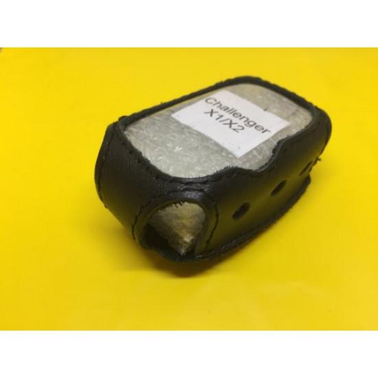 CHALLENGER X-1/X-2 Кожаный чехол для брелка автосигнализации