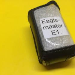 EAGLEMASTER E1 Кожаный чехол для брелка автосигнализации