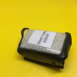 STEEL MATE 888W1 Кожаный чехол для брелока автосигнализации