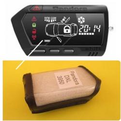 PANDORA DXL-3900/3950/LCD-700 Кожаный чехол для брелока автосигнализации