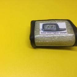 Scher-khan Logicar 1/2/3/3i/4/4i кожаный чехол для брелока сигнализации