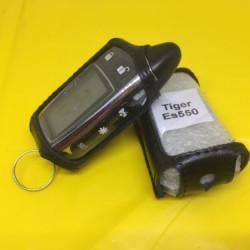 TIGER ES-550 Кожаный чехол для брелока автосигнализации