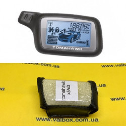 TOMAHAWK X3/X5 Кожаный чехол для брелока автосигнализации