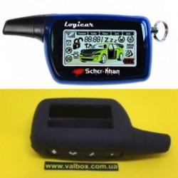 SCHER-KHAN LOGICAR 1/2/3/3I/4/4I силиконовый чехол для брелка автосигнализации