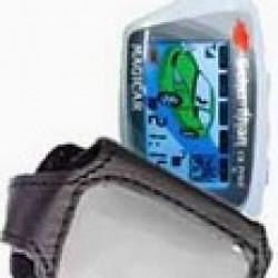 SCHER-KHAN 5 Кожаный чехол для брелока автосигнализации