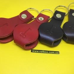 Кожаный брелок для ключей, выполнен из качественной кожи толщиной 3,5мм, цвет на выбор.