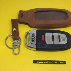 AUDI A1/A2/A4/A4/A5/A6/Q3/Q5/Q7 Кожаный чехол для смарт ключа ручной работы, HANDMADE LEATHER CASES