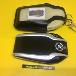 BMW-X5-G05-X7-G07 КОЖАНЫЙ ЧЕХОЛ ДЛЯ СМАРТ КЛЮЧА БМВ,BMW Display РУЧНОЙ РАБОТЫ, HANDMADE LEATHER CASES