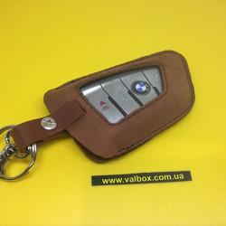 BMW X1,X3,X4,X5,F15 Кожаный чехол для смарт ключа ручной работы, HANDMADE LEATHER CASES