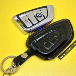 BMW Кожаный чехол для смарт ключа f-серии  ручной работы, HANDMADE LEATHER CASES