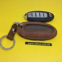 INFINITI Кожаный чехол для смарт ключа ручной работы, HANDMADE LEATHER CASES