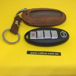 NISSAN Кожаный чехол для смарт ключа ручной работы, HANDMADE LEATHER CASES