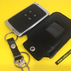 Renault Talisman, Megane 4, Espace 5,renault kadjar кожаный чехол для смарт ключа, ручной работы