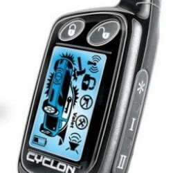 CYCLON 011 Кожаный чехол для брелка автосигнализации