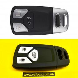 AUDI чехол для ключа силикон 3-кнопки