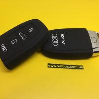 Чехол силиконовый AUDI  A3 A4 S4 S5 S6 A6 A5 Q7 R8 TT A5 Quattro для смарт ключа