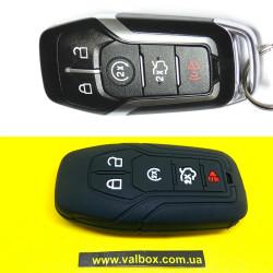 Ford Edge/fusion/explorer чехол силиконовый для Смарт ключа 5-кнопок