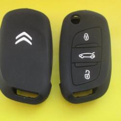CITROEN Силиконовый чехол для выкидного ключа на 3 кнопки