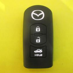 Чехол силиконовый MAZDA для смарт ключа 3 кнопки