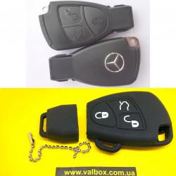 Mercedes чехол силиконовый для ключа рыбка малая