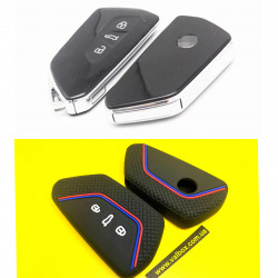 Volkswagen Golf Mk8/Skoda 2020/Seat Leon силиконовый чехол для ключа