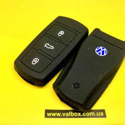 Volkswagen, силиконовый чехол для смарт ключа 3 кнопки, B5/B6