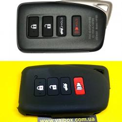 Lexus силиконовый чехол для Смарт ключа 4-кнопки