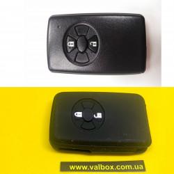 TOYOTA чехол силиконовый для ключа 2 кнопки